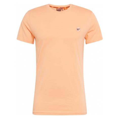 Superdry Koszulka pastelowy pomarańczowy