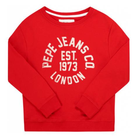 Pepe Jeans Bluza Caden PB581207 Czerwony Regular Fit