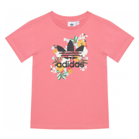 Adidas T-Shirt HER Studio London Floral GN4215 Różowy Regular Fit
