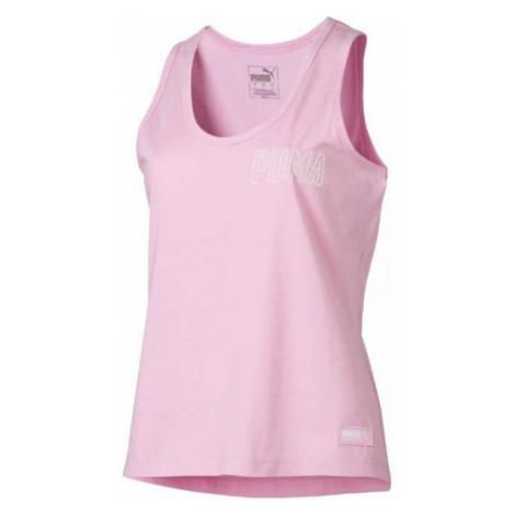 Puma ATHLETICS TANK różowy M - Koszulka damska