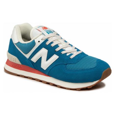 Sneakersy NEW BALANCE - ML574HC2 Niebieski