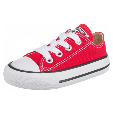 CONVERSE Trampki 'Chuck Taylor All Stars OX' czerwony / biały