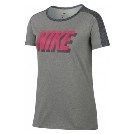 Nike DRY TRAINING T-SHIRT - Koszulka dziewczęca