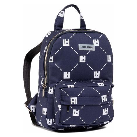 Plecak LOCAL HEROES - Monogram Mini Backpack AW2021BAG014 Navy Blue