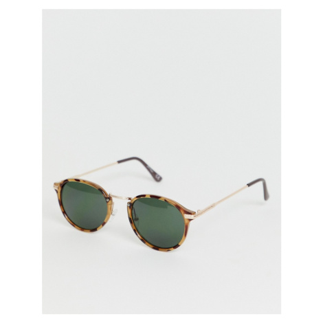 Jeepers Peepers tort round sunglasses