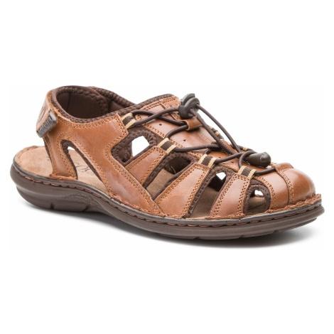 Sandały LASOCKI FOR MEN - MI07-A426-A282-27 Brown