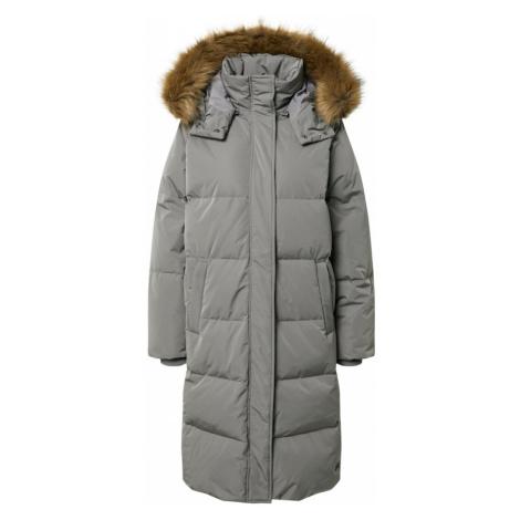 MOSS COPENHAGEN Płaszcz zimowy szary