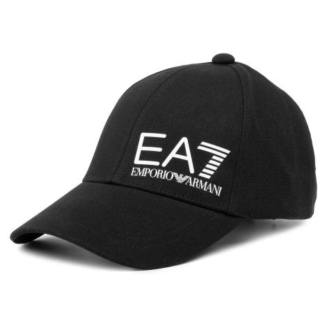 Czapka z daszkiem EA7 EMPORIO ARMANI - 275936 0P010 00120 Black