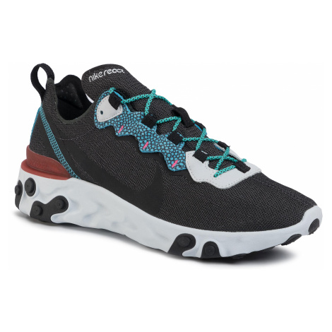 Buty NIKE - React Element 55 Se CD2153 001 Anthracite/Blue Fury