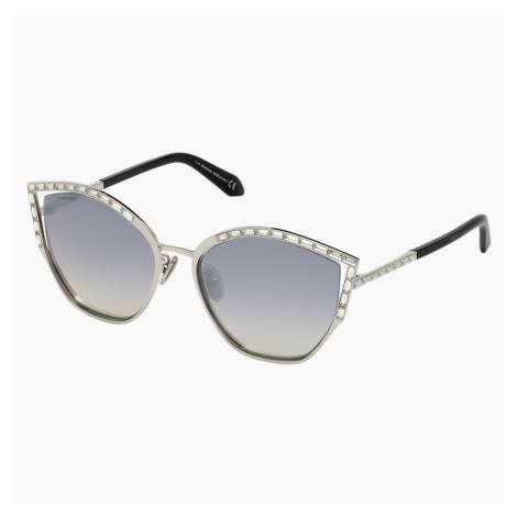 Okulary przeciwsłoneczne Fluid, SK0274-P-H 16C, szare Swarovski