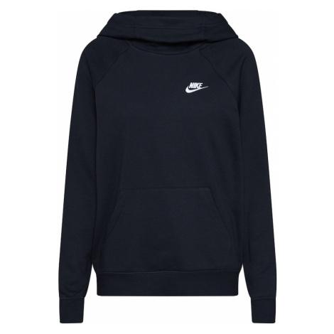 Nike Sportswear Bluzka sportowa czarny / biały