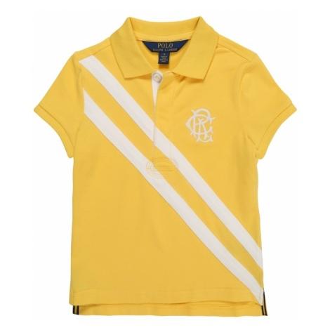 POLO RALPH LAUREN Koszulka 'STRETCH MESH-NOVELTY' żółty