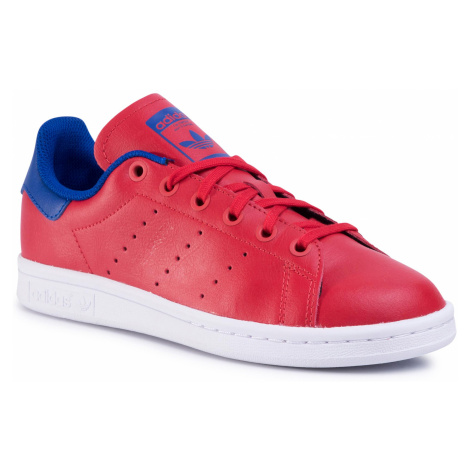 Buty adidas - Stan Smith J FV3611 Scarle/Scarle/Croyal