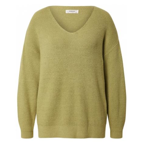 MOSS COPENHAGEN Sweter 'Dalina' zielony