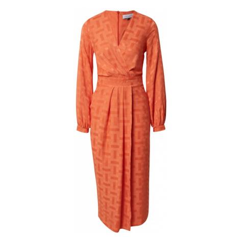 Closet London Sukienka pomarańczowy