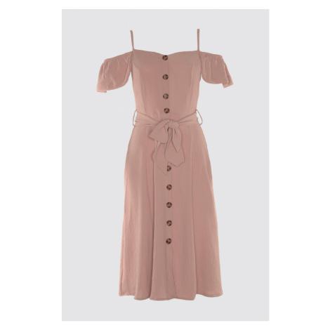Women's dress Trendyol Belt detailed