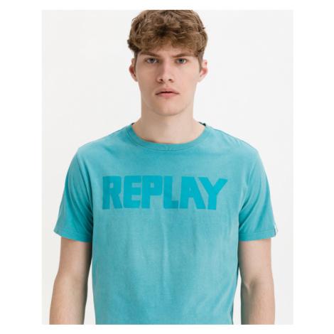 Replay Koszulka Niebieski