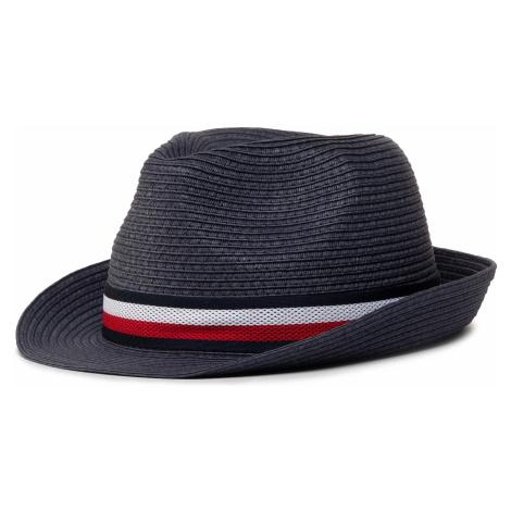 Kapelusz TOMMY HILFIGER - Straw Hat AM0AM057600 BLU