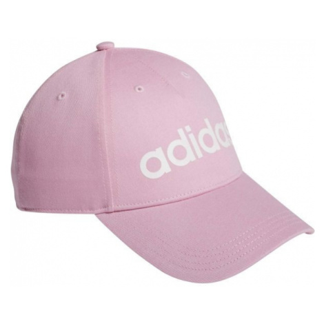 adidas DAILY CAP JNR różowy  - Czapka z daszkiem dziecięca