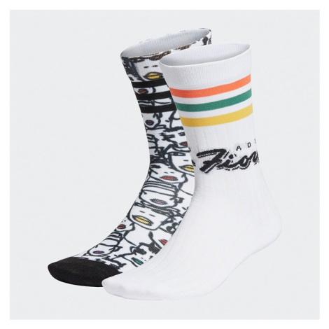 Skarpetki dziecięce adidas Originals x Fiorucci Sock 2 Pack FL9637