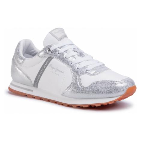 Sneakersy PEPE JEANS - Verona W Mix PLS30983 Silver 934