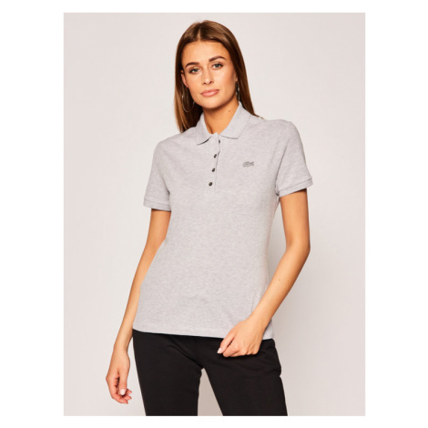 Lacoste Polo PF5462 Szary Slim Fit