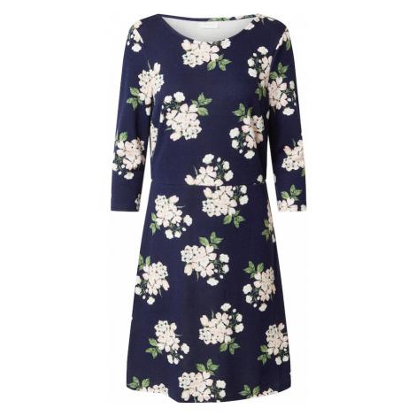 VILA Sukienka 'THILDE' ciemny niebieski / zielony / biały / brzoskwiniowy