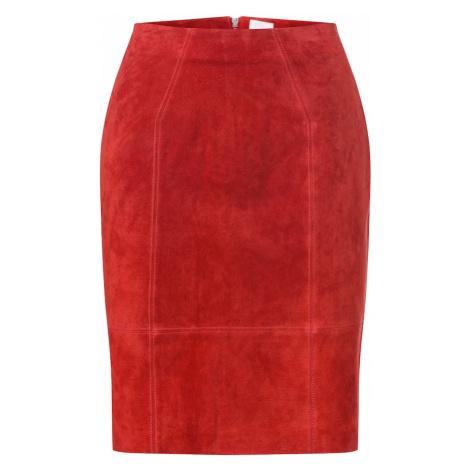 VILA Spódnica 'FAITH' czerwony