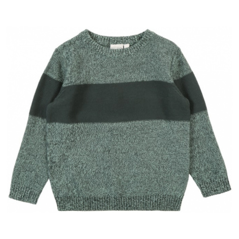 NAME IT Sweter 'NMMVERMAN LS KNIT' jodła