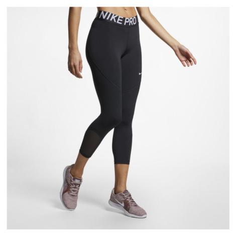 Damskie legginsy z nacięciami Nike Pro - Czerń
