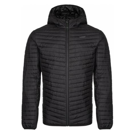 Czarna męska kurtka z wiązanym na zimowy LOAP Irkem