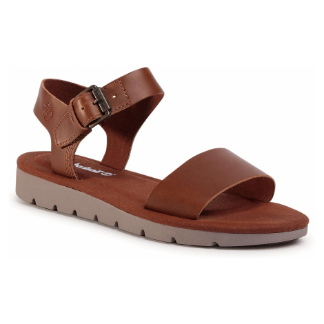 Sandały TIMBERLAND - Lottie Lou Ankle Strap Sandal TB0A2ASXF131 Rust Full Grain