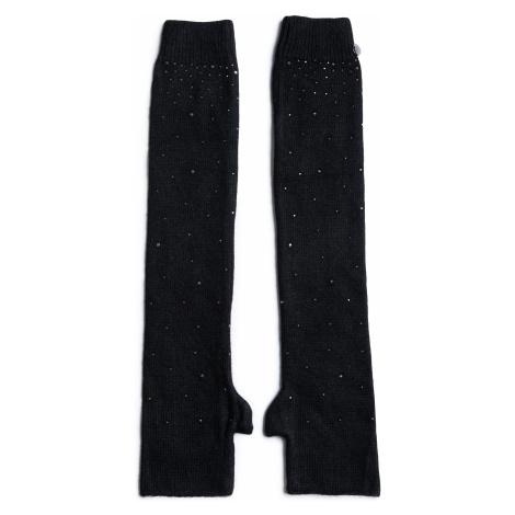Rękawiczki Damskie LIU JO - Manicotto Cristalli 2F0039 M0300 Nero 22222