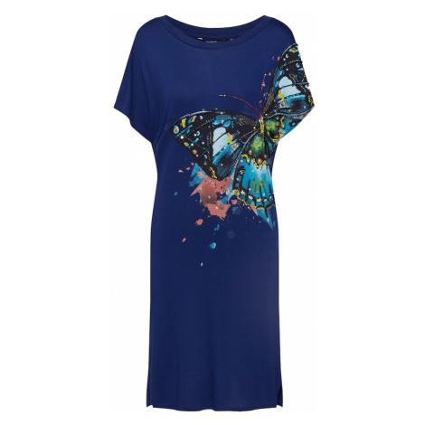 Desigual Sukienka niebieski