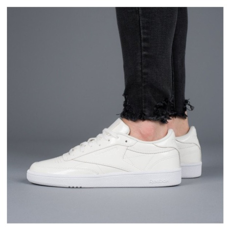Buty damskie sneakersy Reebok Club C 85 Patent BS9776