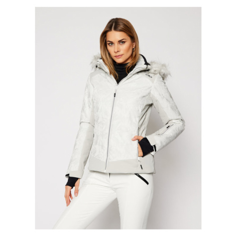 CMP Kurtka narciarska 30W0646 Biały Regular Fit