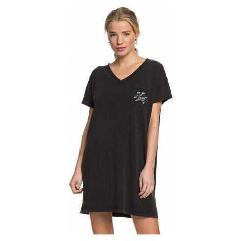 sukienka Roxy Night Shimmers - KVJ0/Anthracite
