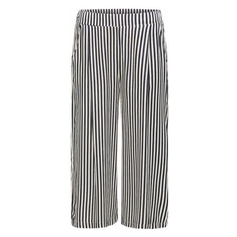 BROADWAY NYC FASHION Spodnie 'PIANA' czarny / biały