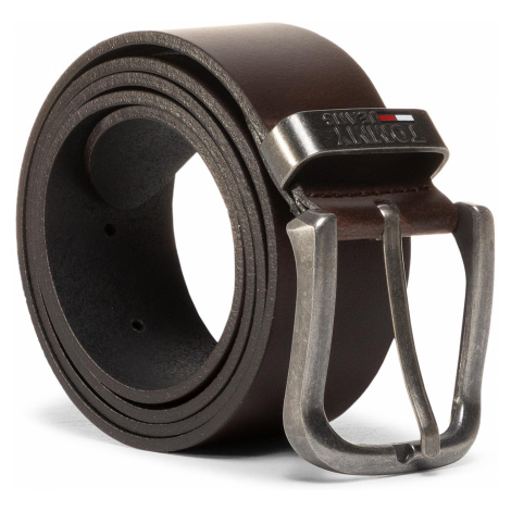 Pasek Męski TOMMY JEANS - Tjm Metal Loop Belt 4.0 AM0AM06167 Bge 0F5 Tommy Hilfiger