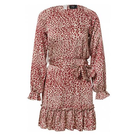 AX Paris Sukienka czerwony / biały