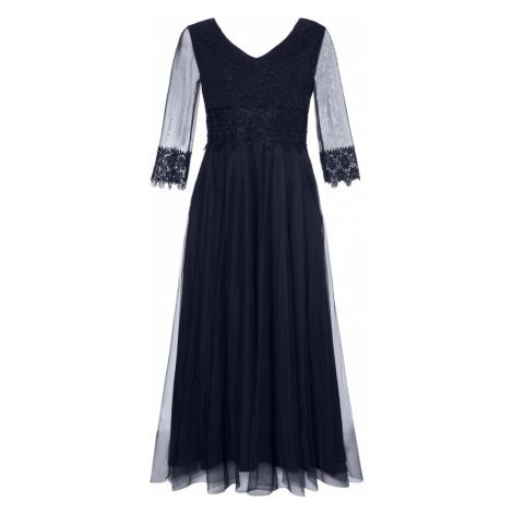 Ulla Popken Suknia wieczorowa ciemny niebieski