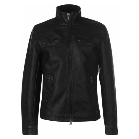 Firetrap PU Jacket Mens