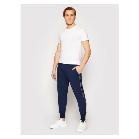 Polo Ralph Lauren Spodnie dresowe Spn 714830276003 Granatowy Regular Fit