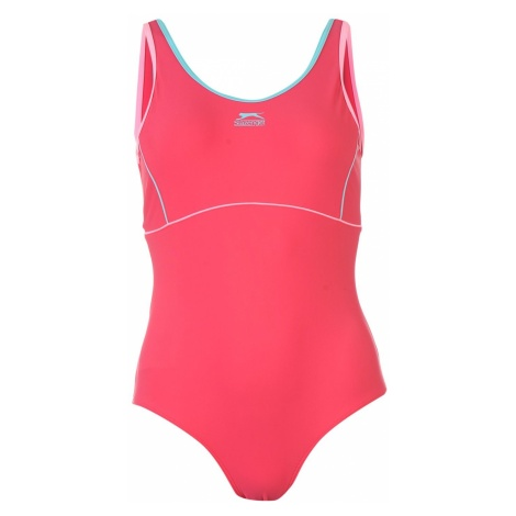 Slazenger Basic Swim Suit Ladies
