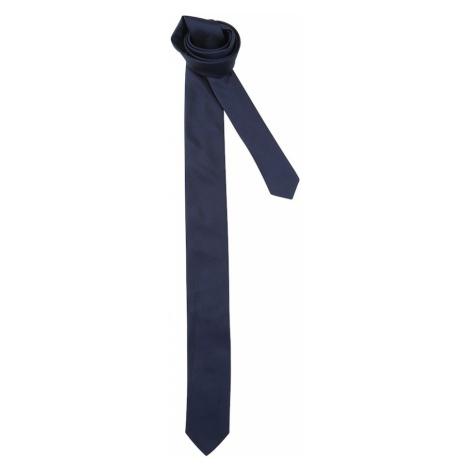 HUGO Krawat ciemny niebieski Hugo Boss