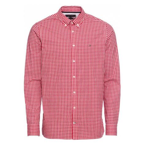 TOMMY HILFIGER Koszula 'SLIM CHECK SHIRT' czerwony