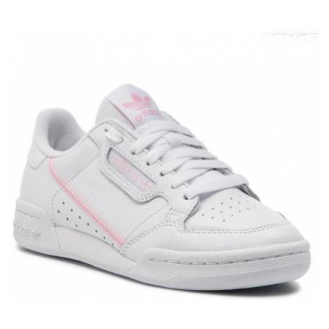 Adidas Buty Continental 80 W G27722 Biały
