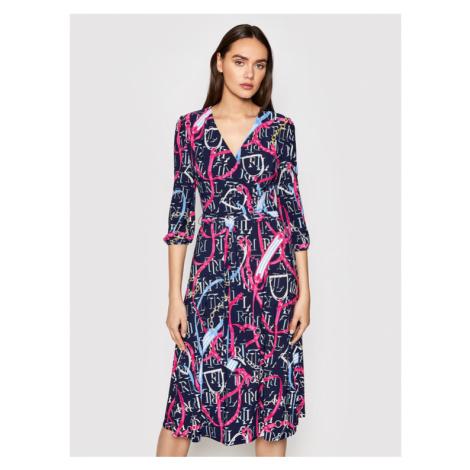 Lauren Ralph Lauren Sukienka codzienna 250832543001 Kolorowy Regular Fit