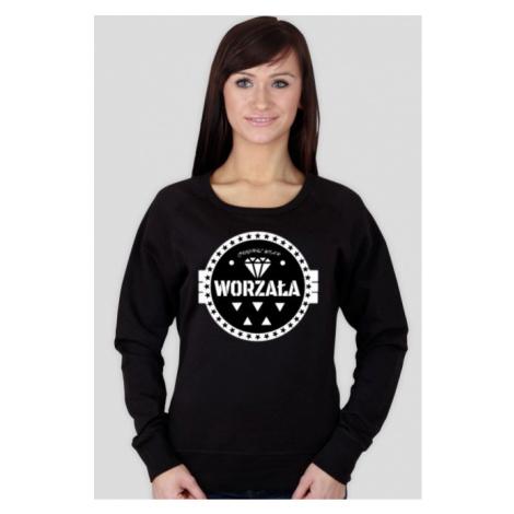 Bluza damska czarna - worzala