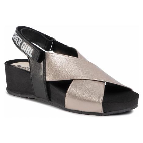 Sandały KARINO - 3353/074 Złoty